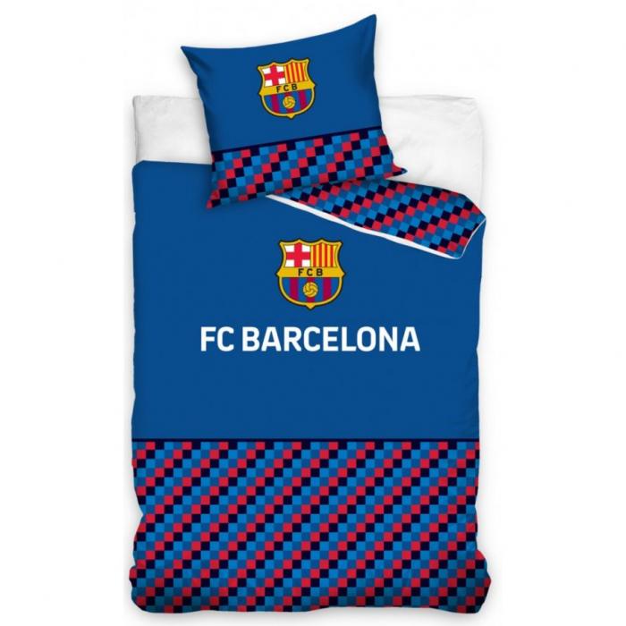 Lenjerie de pat pentru copii FCB, FC Barcelona  140×200cm, 70x90 cm CBX195003FCBA [0]