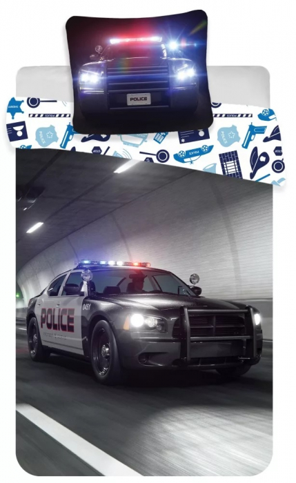 Lenjerie de pat Police 140×200cm, 70×90 cm 0
