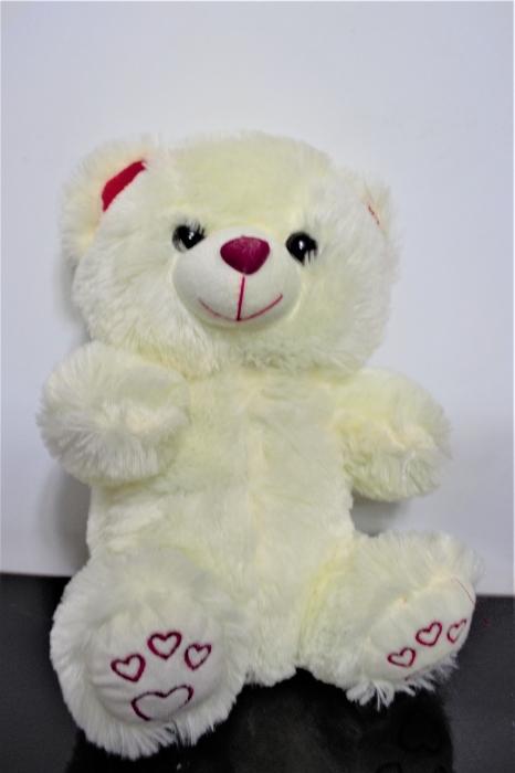 Mini ursulet IVORY din plus 25 cm, cadoul ideal de Valentine's Day 0