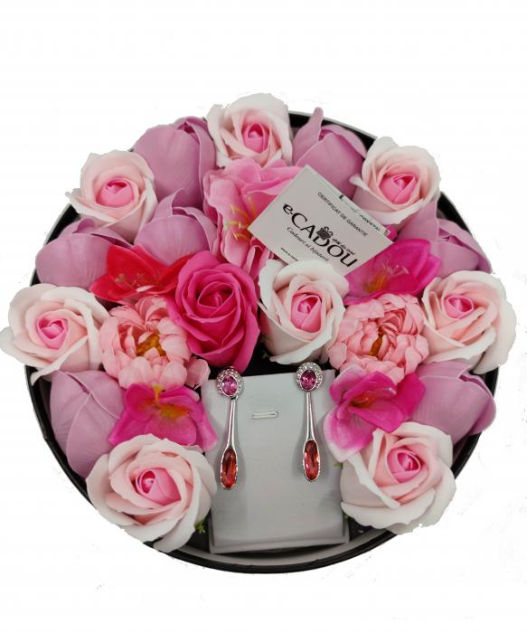 Pachet cadou cu 23 mix flori din sapun AC-R158-M2  Angelina rose [0]