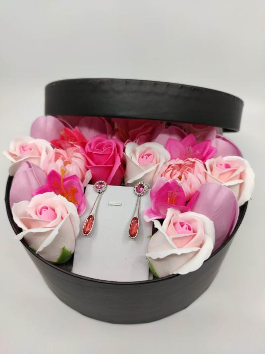 Pachet cadou cu 23 mix flori din sapun AC-R158-M2  Angelina rose [2]