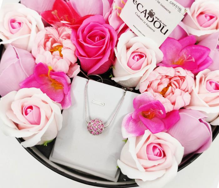 Pachet cadou cu 23 mix flori din sapun AC-R161-M1 FantasyRose [1]