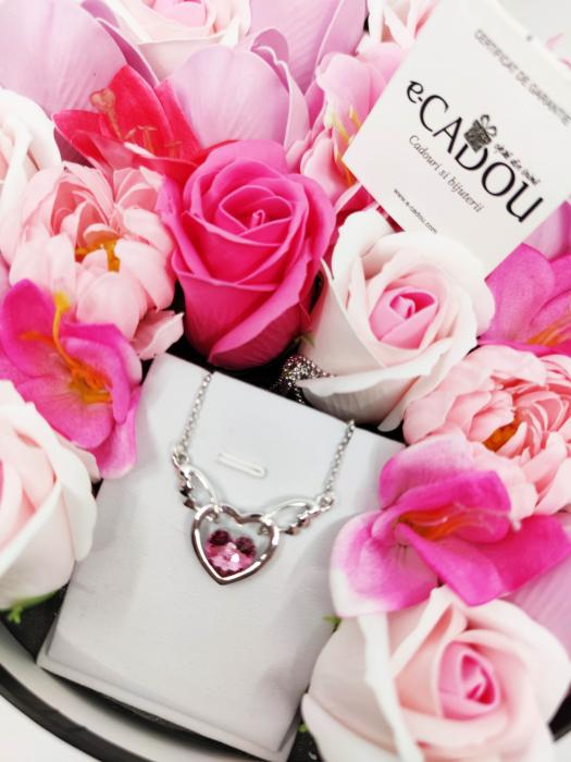 Pachet cadou cu 23 mix flori din sapun AC-R162-M1 FantasyHeart Rose [0]