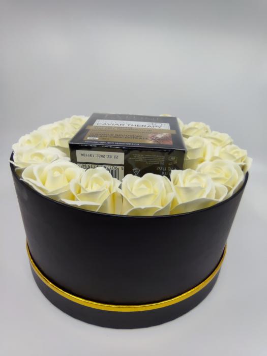 Pachet de LUX,  Crema concentrata anti-rid Royal Caviar 40+, Eveline Cosmetics,Edition De Luxe [3]