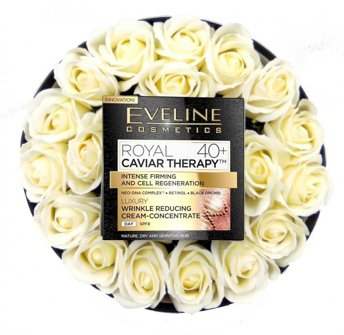 Pachet de LUX,  Crema concentrata anti-rid Royal Caviar 40+, Eveline Cosmetics,Edition De Luxe [0]
