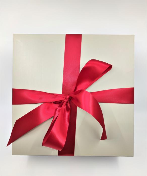 Pachet Promo portofel de dama rosu si ursulet de plus ivory 30cm [3]