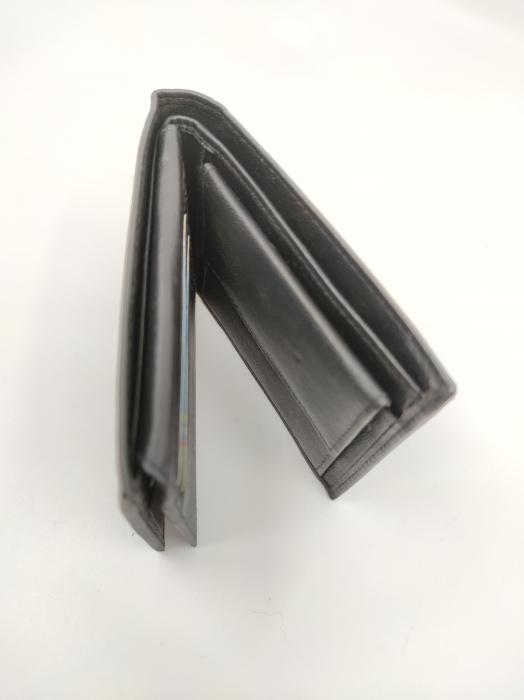 Pachet Promo Portofel de piele si Curea de barbati 130cm, negru, C130NG-LY0577-P1373 [3]