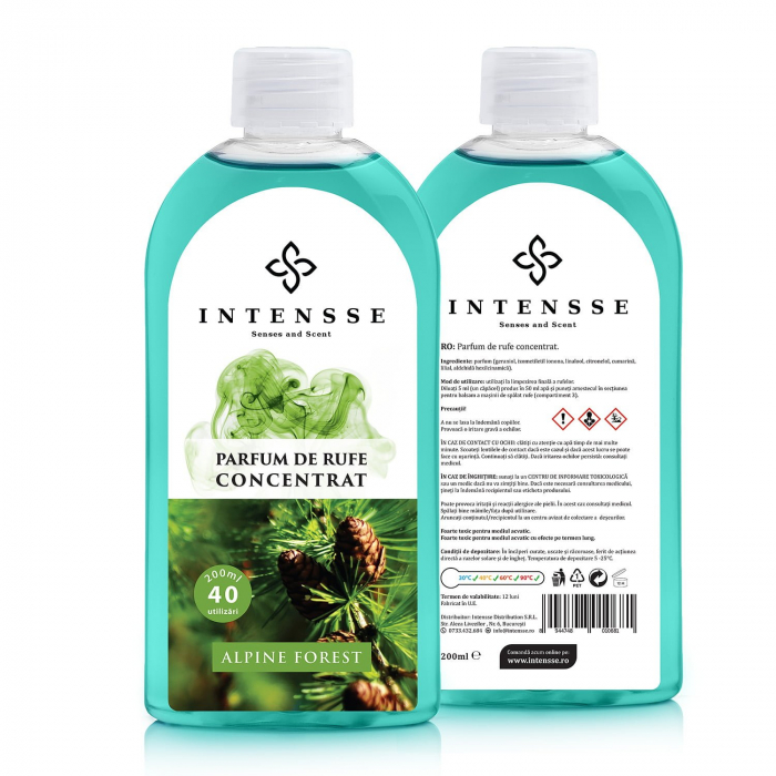 Parfum rufe Alpine Forest - Gama Intensse 0