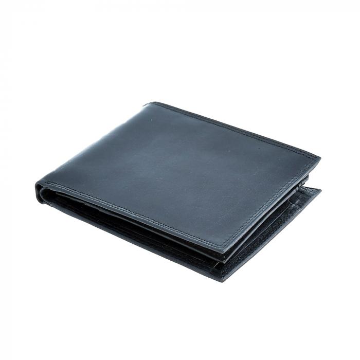 Portofel negru, pentru barbati, din piele naturala, 2244-23 [0]