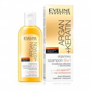 Sampon de par 8 in 1 Argan + Keratina, 150 ml  - Eveline Cosmetics 0