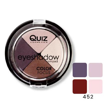 Fard Ochi Quiz Color Focus 4 culori – 452 [0]