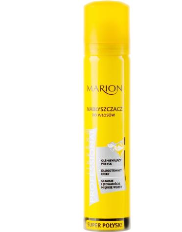 Spray pentru strălucire pentru par Marion Maribell Professional 75 ml [0]