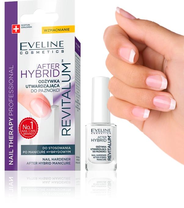Tratament unghii Eveline Cosmetics After Hibrid revitallum 0