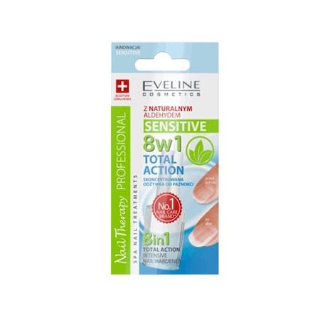 Tratament pentru unghii Eveline 8in1 Sensitive -12 ml  [0]