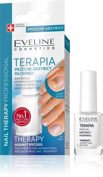 Tratament unghii impotriva micozei Eveline Nail Therapy 12 ml 0