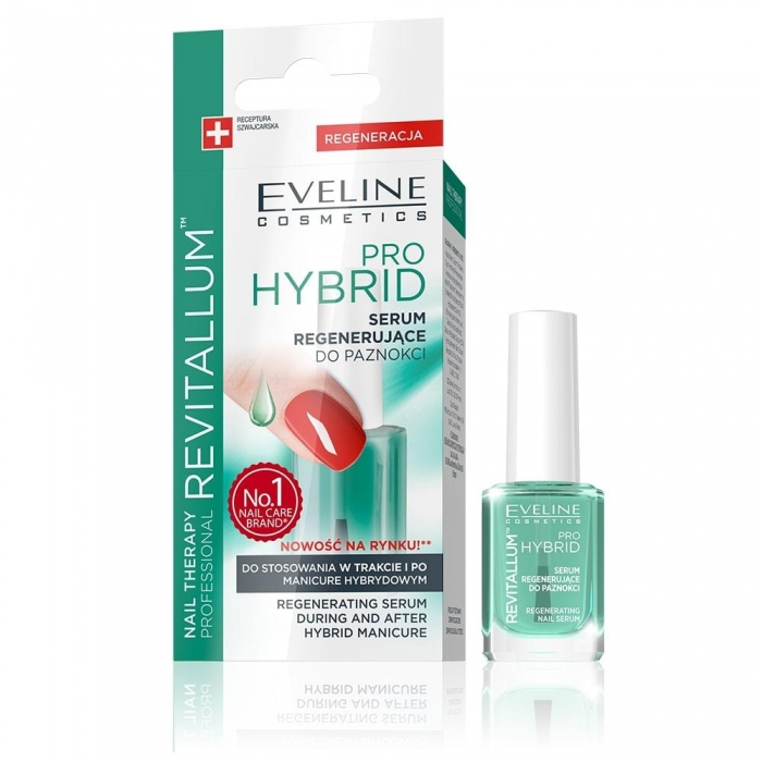 Tratament unghii Eveline Revitalum Pro Hybrid Serum 12 ml 0