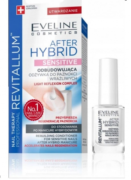 Tratament unghii Eveline Nail Therapy After Hybrid Sensitive 0