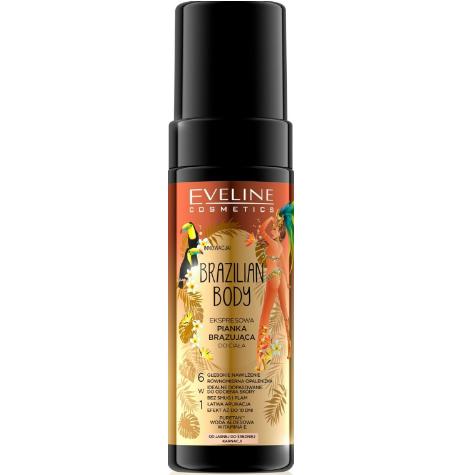 Spumă autobronzantă pentru corp Eveline Cosmetics Brazilian Body