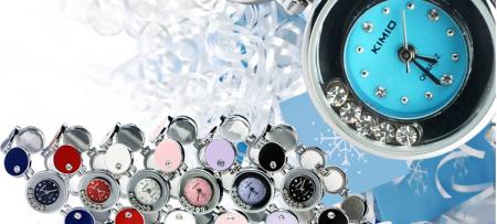 Ceas ORIGINAL KIMIO K3289L bleo cu cristale zirconiu [1]