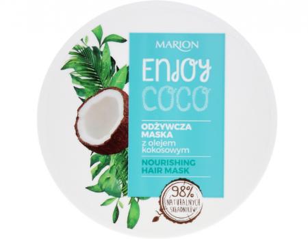 Masca de par Marion Enjoy Cocos, 200 ml., Produs 98% natural