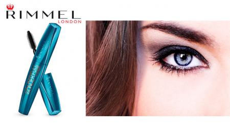 Rimmel Wonder Full Waterproof Mascara, cu ulei de argan - rezistent la apa [1]