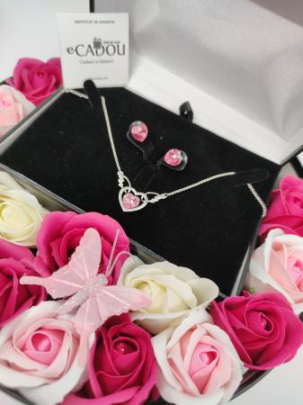 Pachet cadou cu 15 trandafiri din sapun AC-R154-M2 Luxury Love [0]