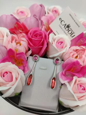 Pachet cadou cu 23 mix flori din sapun AC-R158-M2  Angelina rose [1]