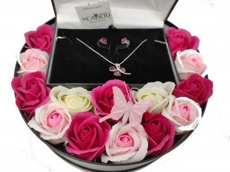 Pachet cadou cu 15 trandafiri din sapun AC-R156-M2  SWEET LEAF [2]