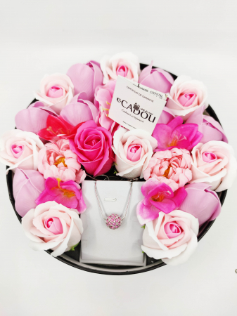 Pachet cadou cu 23 mix flori din sapun AC-R161-M1 FantasyRose [0]