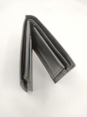 Pachet Promo Portofel de piele si Curea de barbati 135cm, negru, C135NG-A391-P1373 [3]