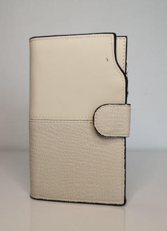 Portofel de dama din piele ecologica AB2035M Off  white [0]