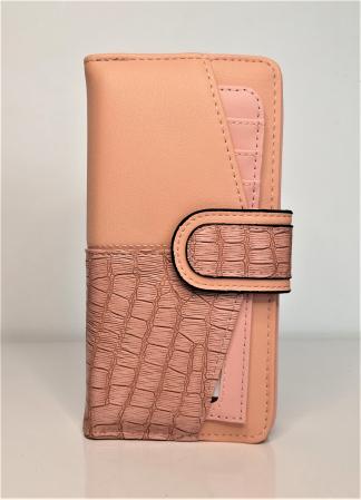Portofel de dama din piele ecologica AB601L rose0