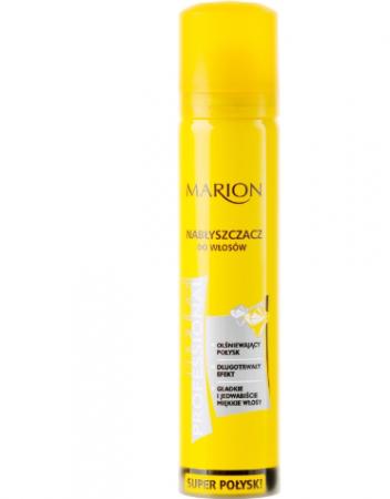 Spray pentru strălucire pentru par Marion Maribell Professional 75 ml