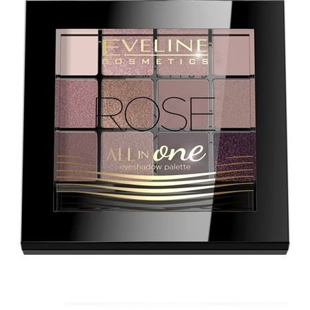 Fard de pleoape Eveline Cosmetics All in One - Rose0