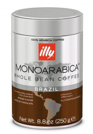 Cafea ILLY ESPRESSO, MONOARABICA- BRAZILIA, BOABE, 250G 0