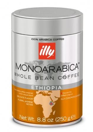 Cafea ILLY Espresso, monoarabica - ETIOPIA, boabe 250G 0