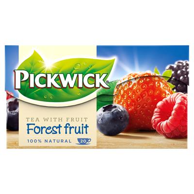Ceai Pickwick Fructe de Padure 20x1,5g 0