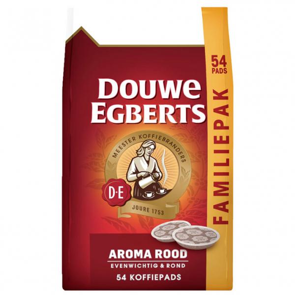 Douwe Egberts Aroma Rood 54 paduri pentru Senseo 0