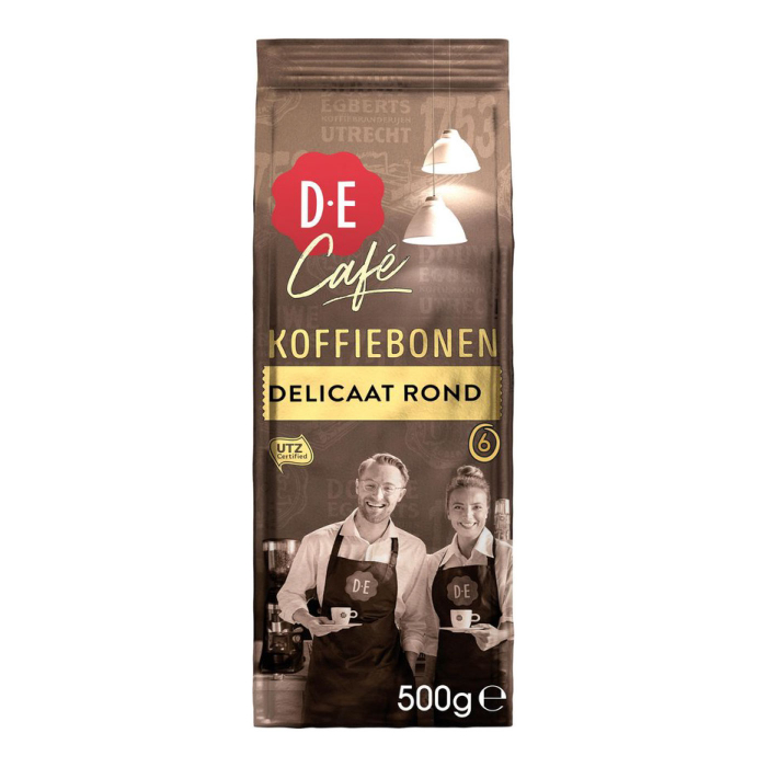 Douwe Egberts Cafea Boabe Deliccat Rond 500g 0