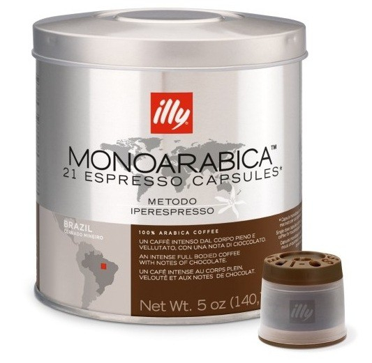 Illy Capsule Iperespresso Monoarabica Brazilia (21 buc) 0
