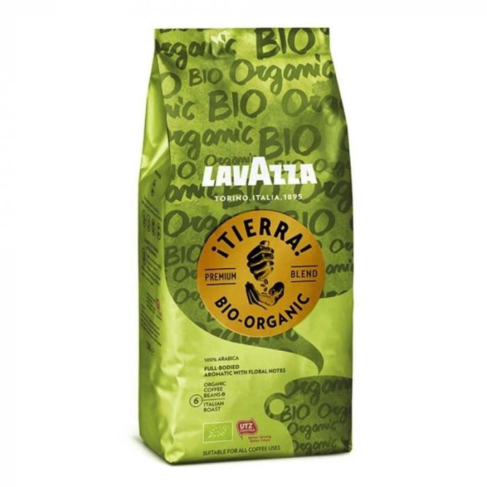 Lavazza Tierra Bio Organic UTZ cafea boabe 1kg 0