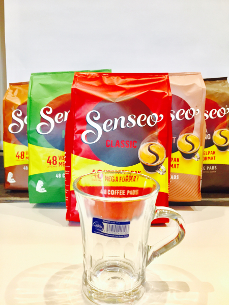 Mix Senseo 5x48 paduri + CEASCA 1