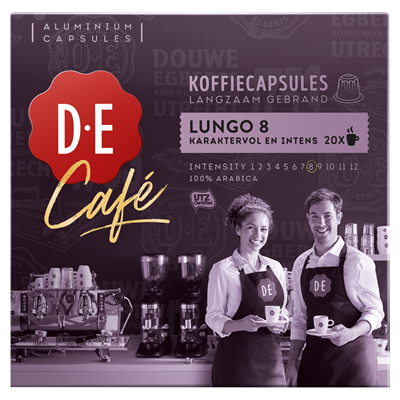Capsule Douwe Egberts Lungo compatibile Nespresso® 20 buc [0]