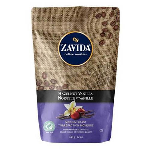 Cafea Zavida aroma alune de padure si vanilie (Hazelnut Vanilla Coffee 340gr) 0