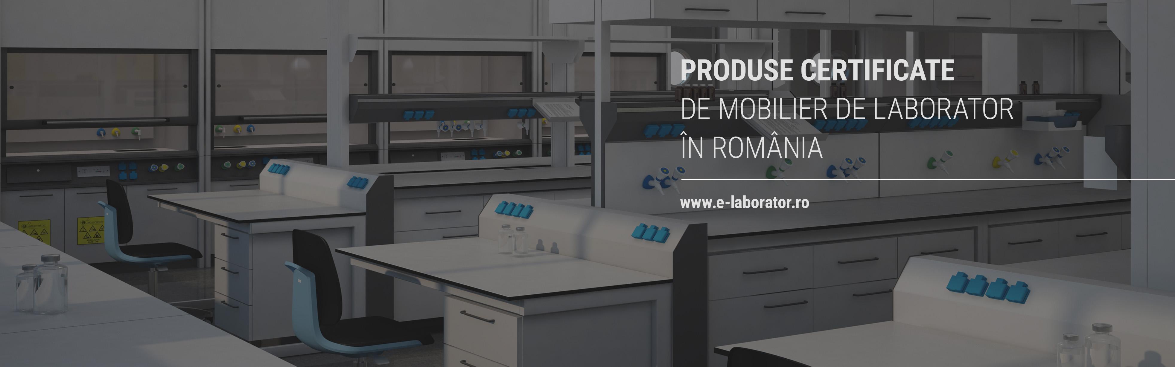 Mobilier de laborator aliniat la standarde europene
