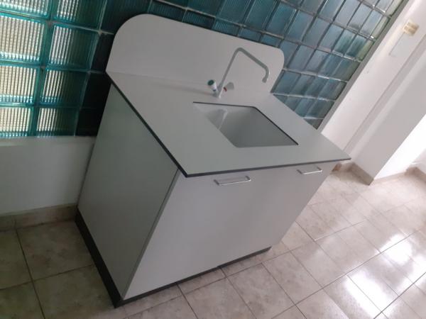 Modul sanitar simplu - dimensiuni 1200/750/900 mm 2