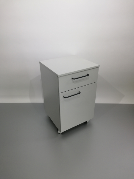 Corp mobil under-bench de depozitare, cu un sertar si o usa - 500 mm 0