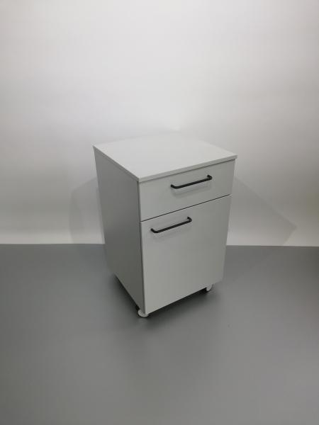 Corp mobil under-bench de depozitare, cu un sertar si o usa - 600 mm 0