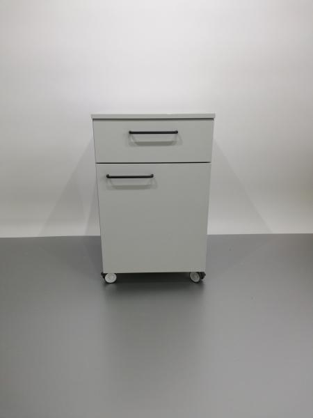 Corp mobil under-bench de depozitare, cu un sertar si o usa - 500 mm 1