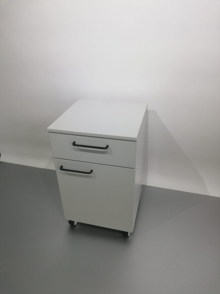 Corp mobil under-bench de depozitare, cu un sertar si o usa - 600 mm 2